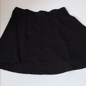 Torrid black skater mini skirt